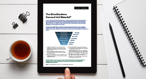 The SiriusDecisions Demand Unit Waterfall™