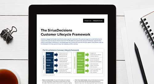 The SiriusDecisions Customer Lifecycle Framework