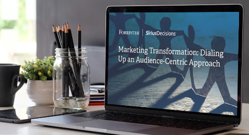 Marketing Transformation: Dialing Up an Audience-Centric Approach