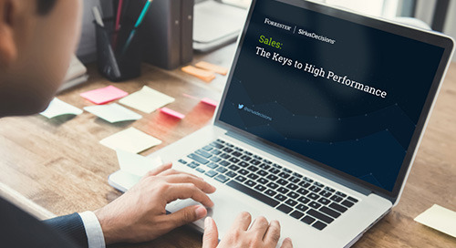 Sales: The Keys to High Performance