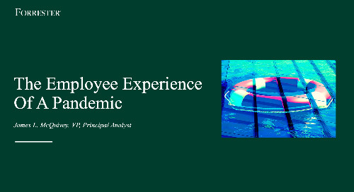 The Employee Experience Of A Pandemic Webinar Replay