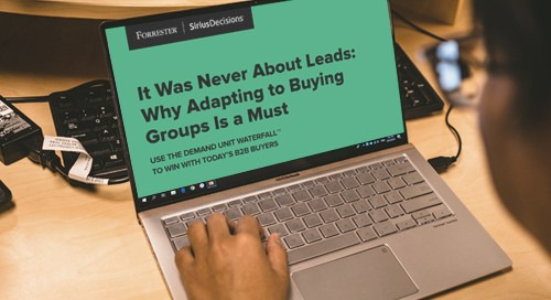 It Was Never About Leads: Why Adapting to Buying Groups Is a Must