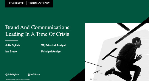 Brand And Communications: Leading In A Time Of Crisis Webinar Replay