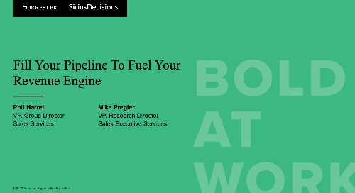 Fill Your Pipeline To Fuel Your Revenue Engine Webinar Replay