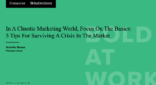 In A Chaotic Marketing World, Focus On The Basics Webinar Replay