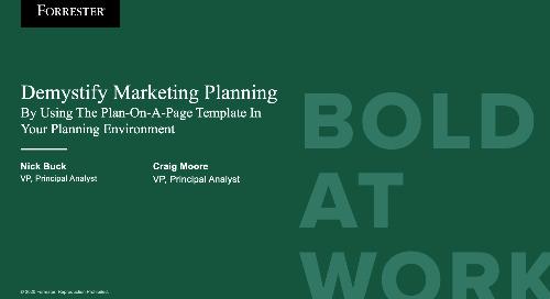Demystify Marketing Planning Webinar Replay