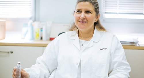 [Exclusive Interview] AHAVA's Head of Research Uncovers the 'Art & Science' of Natural Beauty