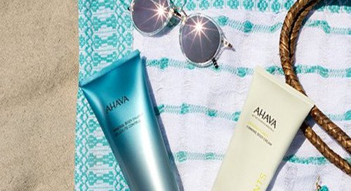 Your Weekend Bag With Dead Sea Products