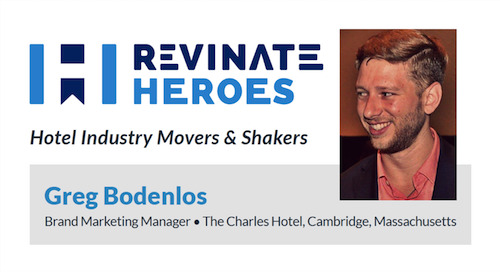 Revinate Heroes: Greg Bodenlos, Brand Marketing Manager
