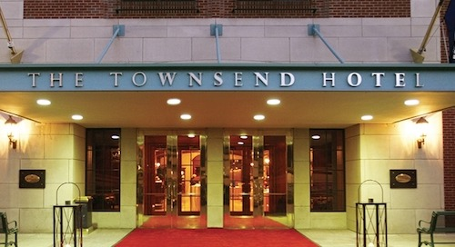 January Campaign of the Month: The Townsend Hotel