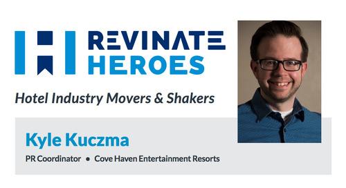 Revinate Heroes: Kyle Kuczma, PR Coordinator