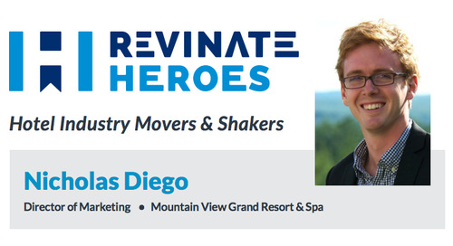 Revinate Heroes: Nicholas Diego, Director of Marketing