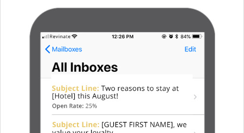 Top Hotel Marketing Subject Lines of August 2018 – EMEA