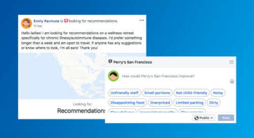 Facebook Moves From Stars to Recommendations