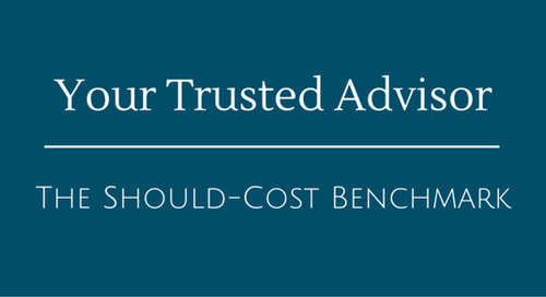 Your Trusted Advisor   The Should-Cost Benchmark