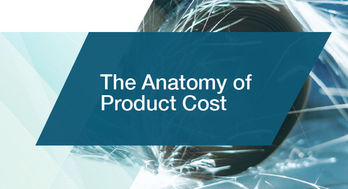 The Anatomy of Product Cost
