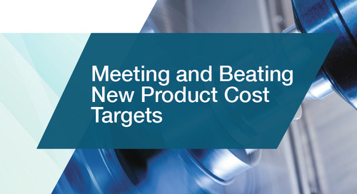 Meeting and Beating New Product Cost Targets