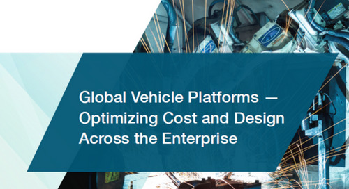 Global Vehicle Platforms - Optimizing Cost and Design Across the Enterprise