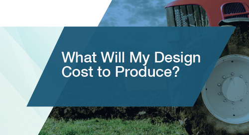 What Will My Design Cost to Produce?
