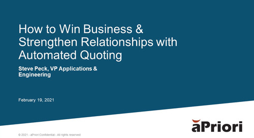 How To Win Business with Automated Quoting