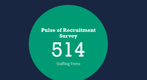 Pulse of Recruitment Insights for Staffing and Recruiting