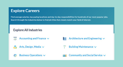 Career Pages Make It Easier for Job Seekers to Get Details on Your Industry