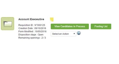Applicant Tracking: Managing Your Requisitions Just Got Easier