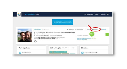 Recruitment Edge: New Feature Saves Time for Bullhorn Applicant Tracking System Users