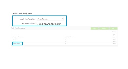 Applicant Tracking:  System Enhancements from Candidate Management to Apply Form Templates