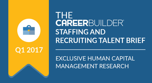 The CareerBuilder Staffing and Recruiting Talent Brief