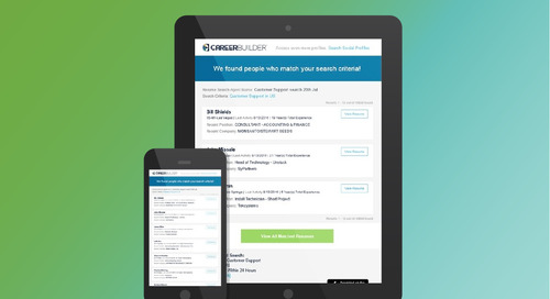 CareerBuilder Enhances Search Alert Email for a Better User Experience, Better Results