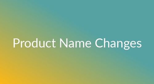 Updates to CareerBuilder's Product Names