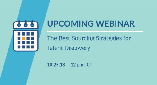 New Webinar: The Best Sourcing Strategies for Talent Discovery