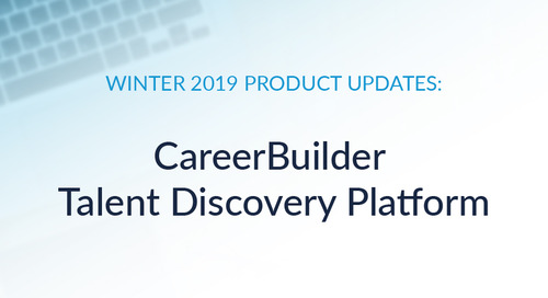 Hit the Ground Working: Winter Product Updates to Talent Discovery Platform
