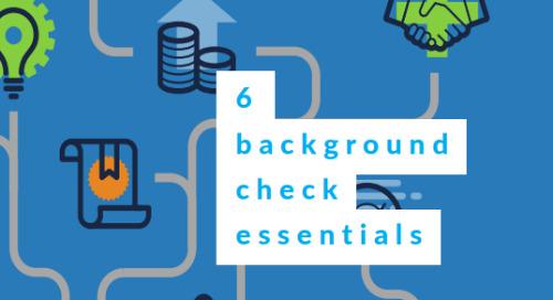 6 background check essentials
