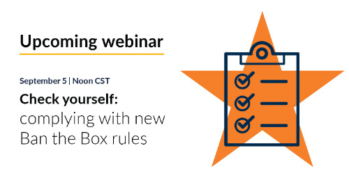 New webinar: Check yourself: complying with new Ban the Box rules