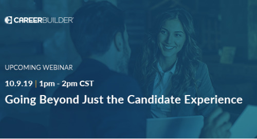 Going beyond the candidate experience