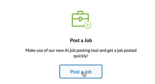 Better, faster, stronger: the new AI job posting tool