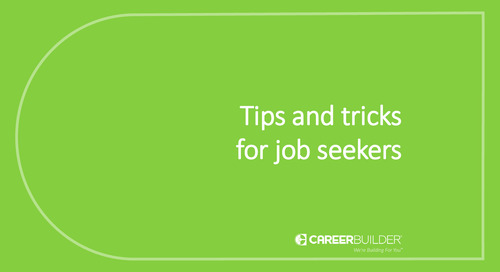 Tips and tricks for job seekers