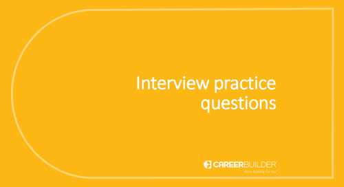 Interview practice questions