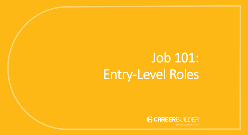 Job 101: Entry-Level Roles