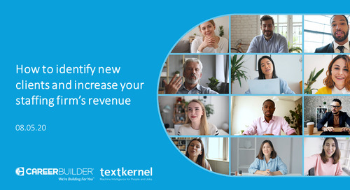 Webinar: How to identify new clients and increase your staffing firm's revenue