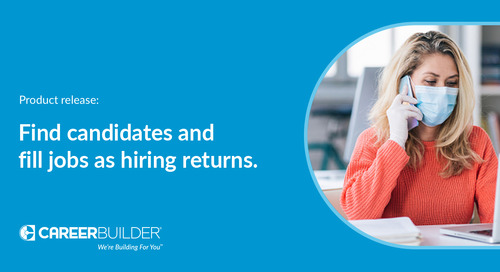 Tools to recruit and hire candidates as work environments change