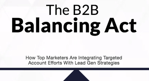 The B2B Balancing Act