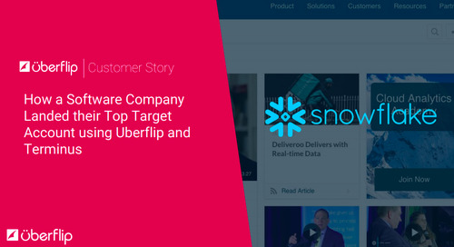 [Case Study] How a Software Company Landed Their Top Target Account Using Uberflip and Terminus