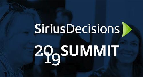 May 5-8 | SiriusDecisions Summit | Austin