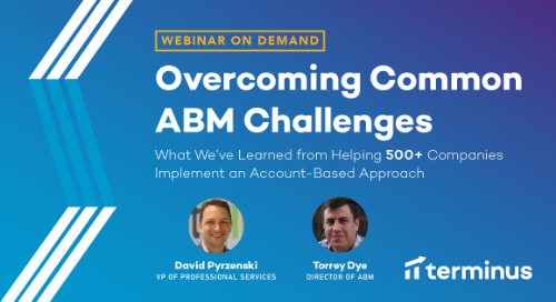 What We've Learned From Helping 500+ Companies Implement an Account-Based Approach
