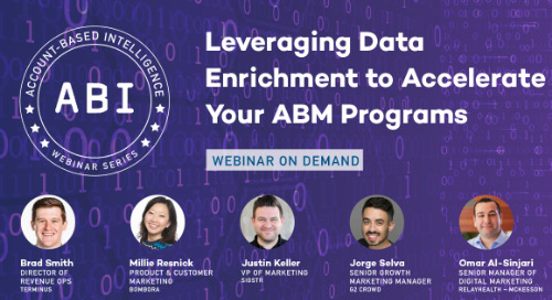 How to Leverage Data Enrichment to Accelerate Your ABM Programs