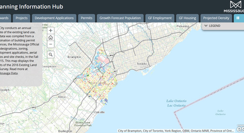 Mississauga fait participer le public grâce à sa nouvelle application Planning Information Hub