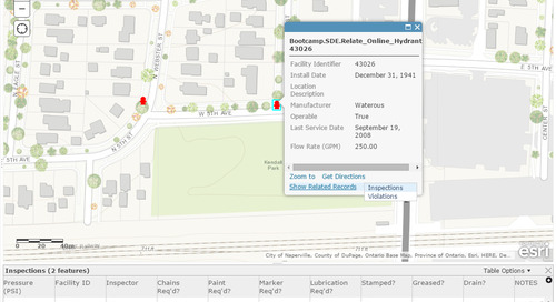 Leveraging enterprise related data with ArcGIS Online and Collector for ArcGIS – Part 1